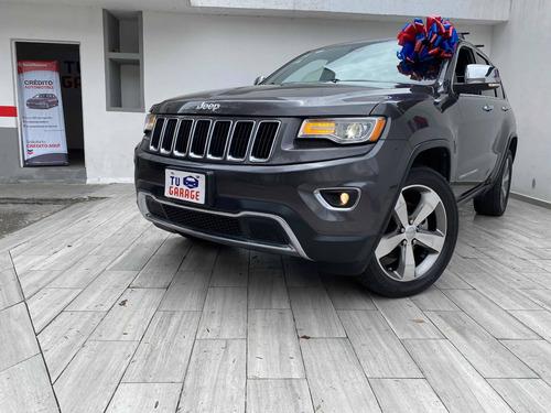 Imagen 1 de 12 de Jeep Grand Cherokee 2015 Limited Lujo Qc Gps Bixenon R20 V6