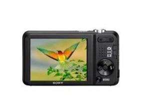 Câmera Digital Sony Cyber-shot Dsc-w170 Preta - 16.1 Mp 4gb