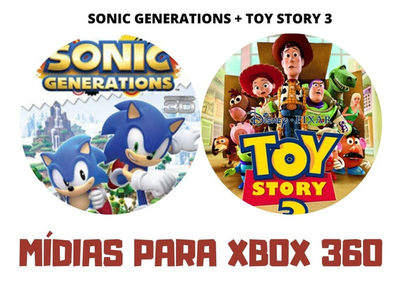 Sonic Generations + Toy Story 3