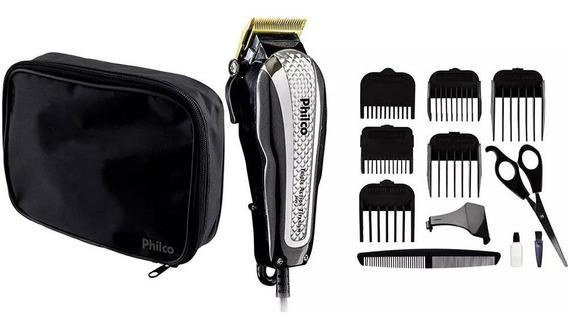 Maquina Aparador Cortar Barba E Cabelo Titanium Pcr06 +bolsa