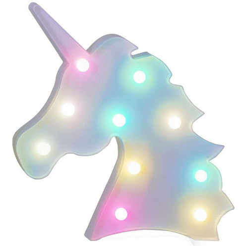 Lampara Led Cambia De Colores Mod.: Unicornio