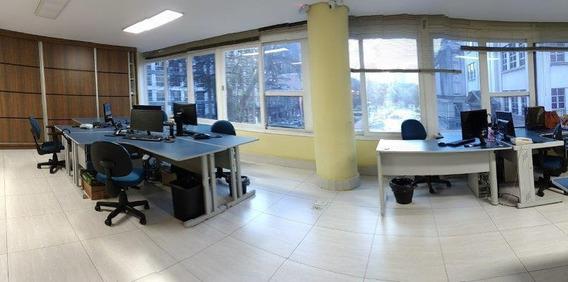 Sala Em Centro, Santos/sp De 98m² Para Locação R$ 2.500,00/mes - Sa101880