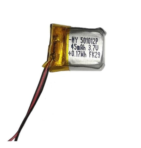 Bateria Lipo 3.7v 45mah O 60mah Auricular Bluetooth Reloj