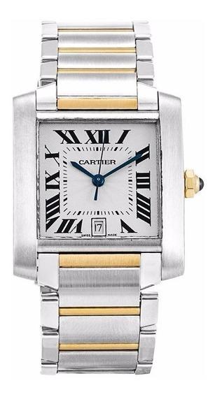 Reloj Cartier Tank Francaise Automatico Oro 18k W51005q4