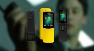 Teléfono Nokia 8810 Curveado Doble Sim
