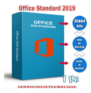 Office Standard 2019 1 Pc Licencia De Por Vida