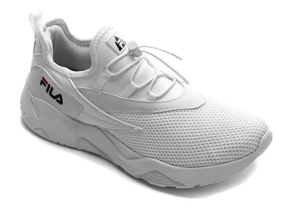 Tênis Feminino Fila V. Track Branco Esportivo Leve Original