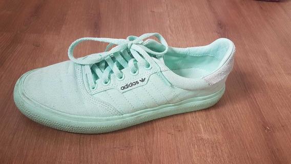 Tênis Feminino adidas Verde Água Tamanho 36