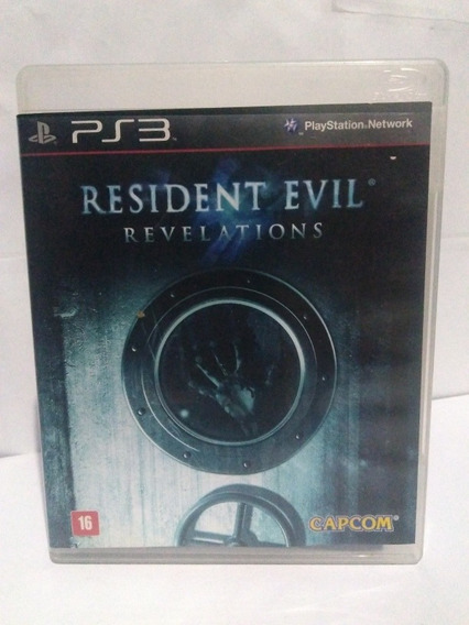 Jogo Resident Evil Revelations Ps3 Mídia Fisica R$59,90