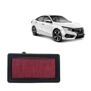 Filtro De Ar Esportivo Inbox Rs Honda Civic 1.5 T 2017 Acima