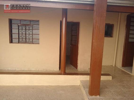Casa Com 2 Dormitórios Para Alugar, 70 M² Por R$ 1.600/mês - Vila Pagano - Valinhos/sp - Ca0690