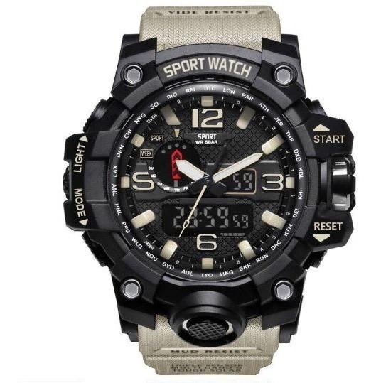 Relógio Masculino Digital Estilo Militar Original Resistente