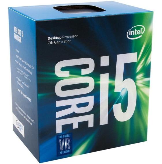 Processador Intel Core I5-7400 Cache 6mb, 3ghz - 3.5ghz Max