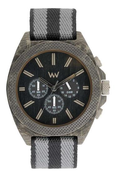 Relógio, Wewood, Phoenix Chronos Teak Black
