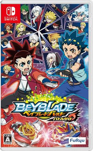 Beyblade Burst Battle Zero - Switch Japanese Ver. (benefit G