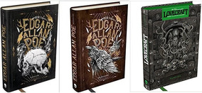 Edgar Allan Poe Medo Clássico V1 + V2 Hp Lovecraft