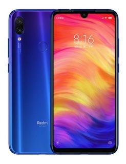 Xiaomi Redmi Note 7 64gb Azul C/capa Orig+pelicula Brinde