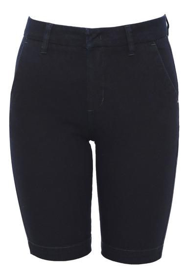 Bermuda Jeans Calvin Klein Cintura Alta Ciclista F8pw11ji118