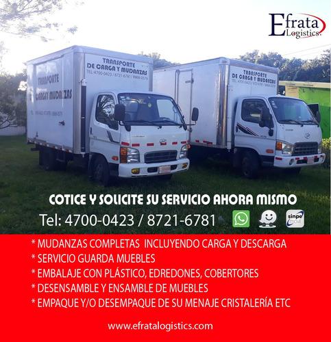 Imagen 1 de 7 de Transportes Y Mudanzas Efrata 8721 6781 Camiones Cerrados