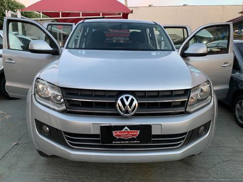 Imagem 1 de 15 de Volkswagen Amarok Trendline 2.0 Prata 2012