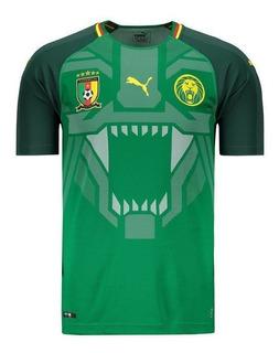 Camisa Puma Camarões Home 2018