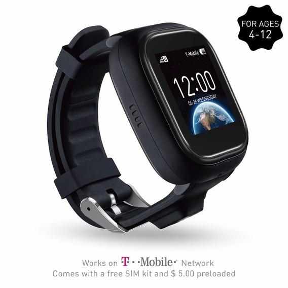 Reloj Gps Ticktalk 1.0s Touch Screen Kids Wearable (black)