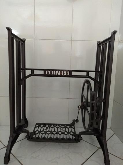 Pé De Máquina De Costura Gritzner Antiga