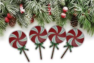 Paletas Decorativas Navideñas