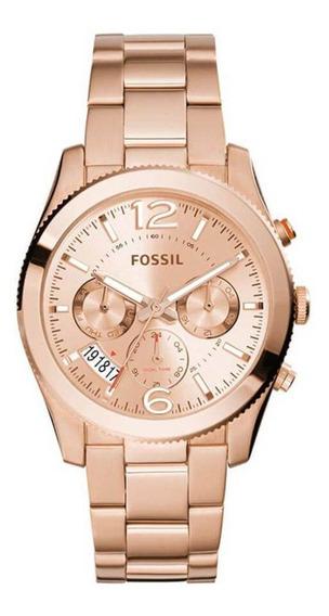 Relógio Fossil Rosé Feminino Es3885/4xn
