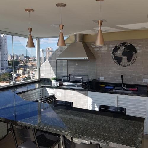Cobertura Com 3 Dormitórios À Venda, 120 M² Por R$ 840.000,00 - Lauzane Paulista - São Paulo/sp - Co0105