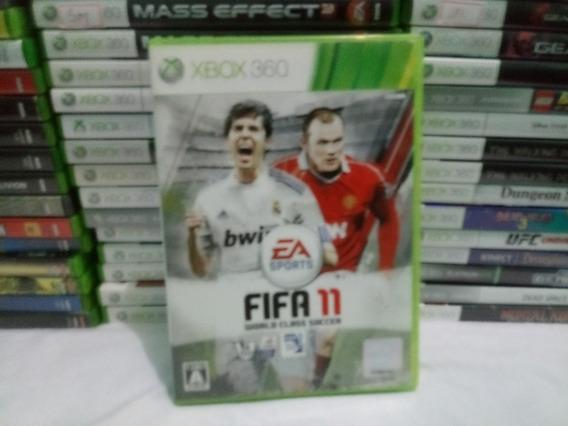 Cd Fifa Soccer 11 Xbox 360 Para Xbox Japones Ntsc-j