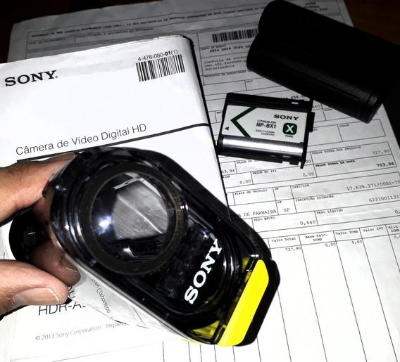 Câmera De Ação Sony Hdr-as15