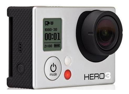 Gopro Hero 3 White + Tela Lcd Touch
