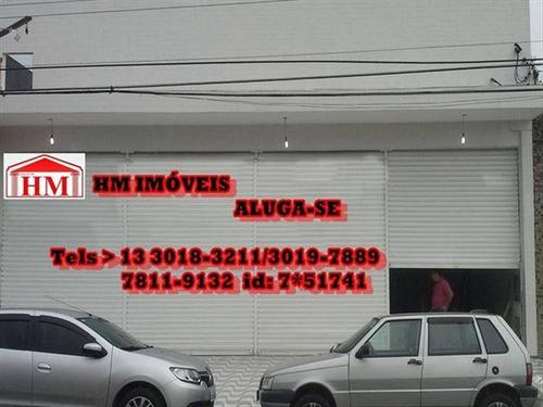 Loja Grande Muito Bem Localizada No Jardim Do Rio Branco Perto De Tudo - Hm1780