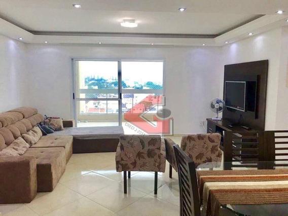 Apartamento Com 4 Dormitórios À Venda, 130 M² Por R$ 900.000 - Vila Marlene - São Bernardo Do Campo/sp - Ap2722