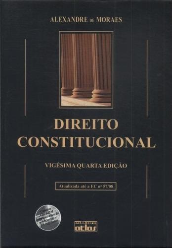 Livro Direito Constitucional Alexandre De Moraes 2010