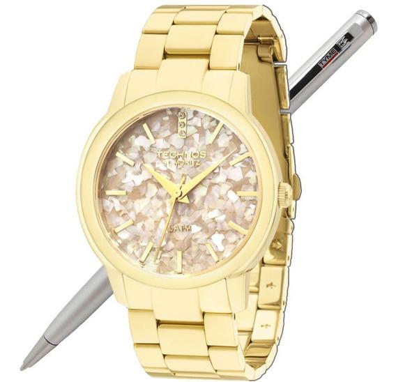 Relógio Technos Feminino St Moritz 2036lnt/4c - Nota Fiscal