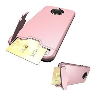 Asuwish Moto G5s Plus Case Moto G5s Caja Del Teléfono Con So
