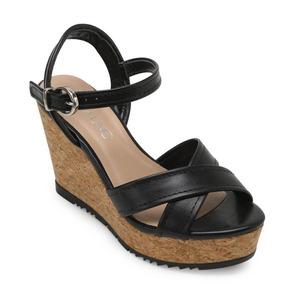 07e4e8d12 Sandalia De Fecha Atras Plataforma Via Uno - Sapatos no Mercado ...