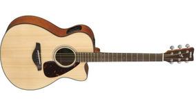 Violão Folk Elétrico Yamaha Fsx800c Natural Concert Cutaw