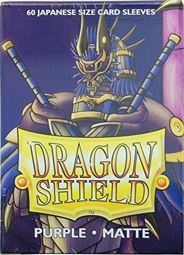 Dragon Shield Color Morado Mate 60 ct Japonés Fundas Para Ta