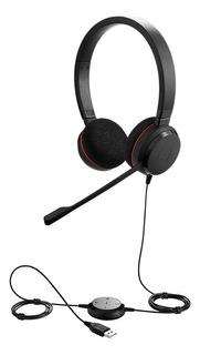 Auricular Headset Jabra Evolve 20 Duo/ Retira Por Barracas
