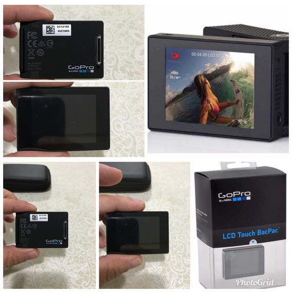 Lcd Go Pro Touch (sem Uso)