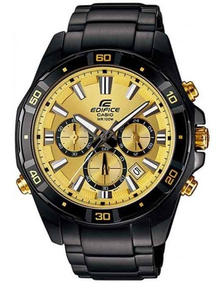 Relógio Casio Masculino Edifice Cronógrafo Efr-534zbk-9avdf