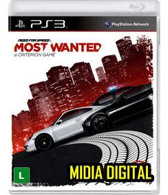 Need Speed Most Ps3 Jogo Carros Corrida Ação Aventura Barato
