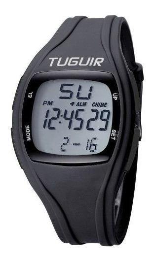 Relógio Esportivo Unissex Tuguir Digital Tg1602 Preto