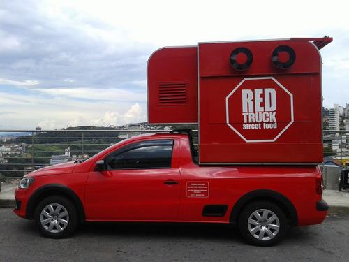 Food Truck Para Strada E Saveiro (montagem Sem O Veiculo)