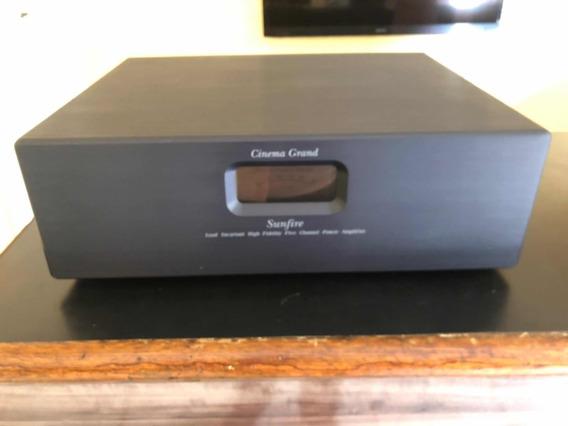 Power Potência Amplificador Sunfire Cinema Grand 5x200w Rms