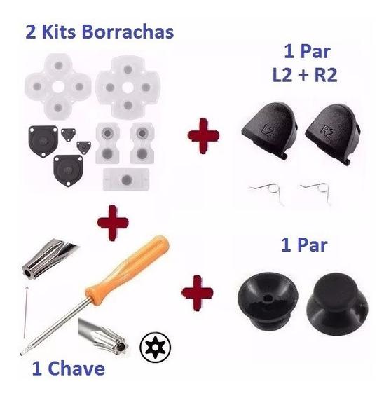 Ps4 1 Kit De Reparo Controle Ps4 + Frete R$ 10,99 Rastreio