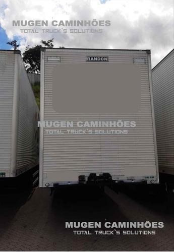 Carreta Furgão Alumínio 3 Eixos - Randon - 30 Pallets Mugen